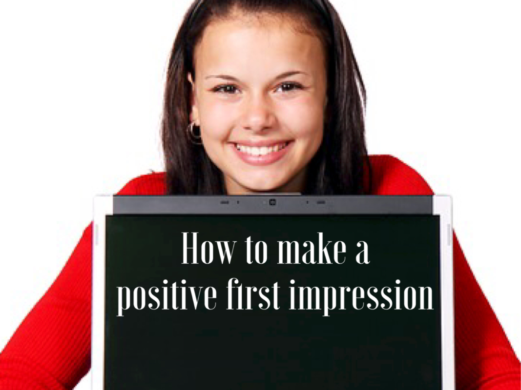 Simple way to make a positive first impression