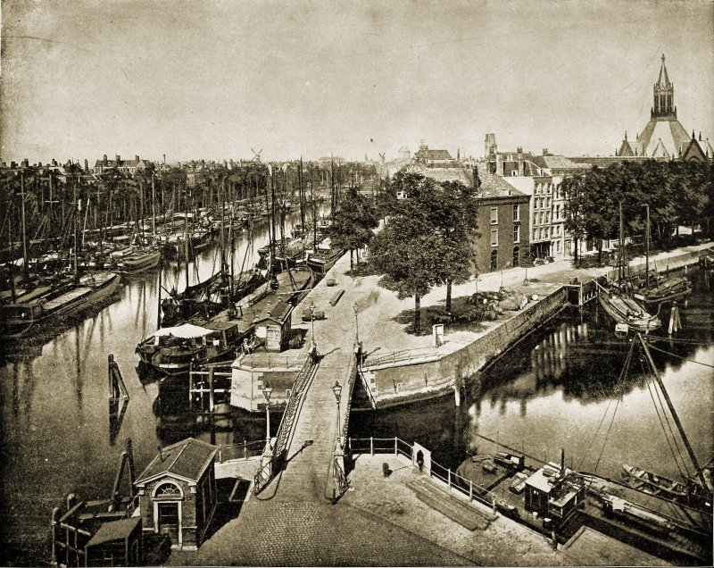 Rotterdam Holland about 1892