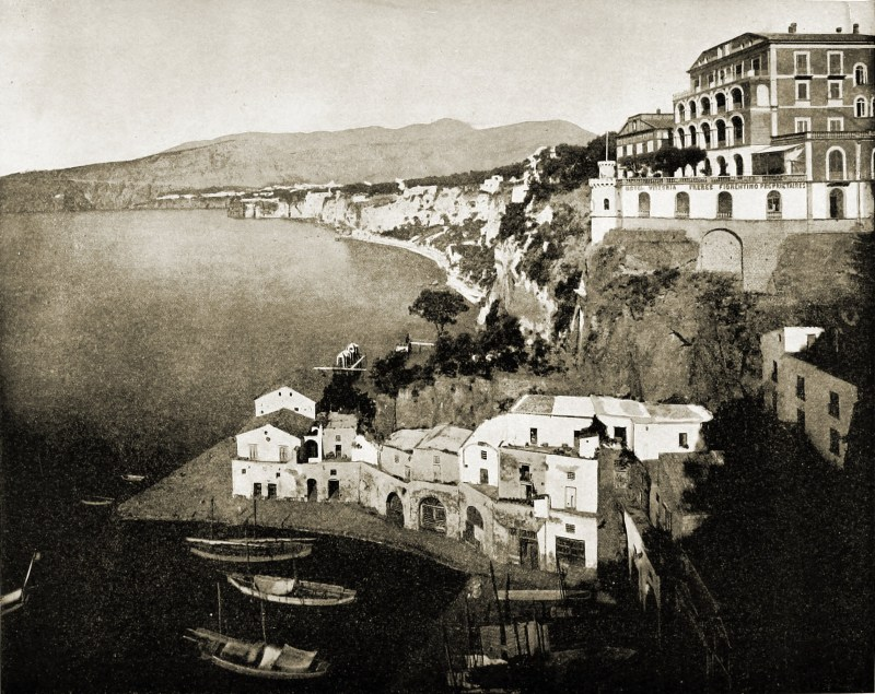 Sorrento Italy about 1892