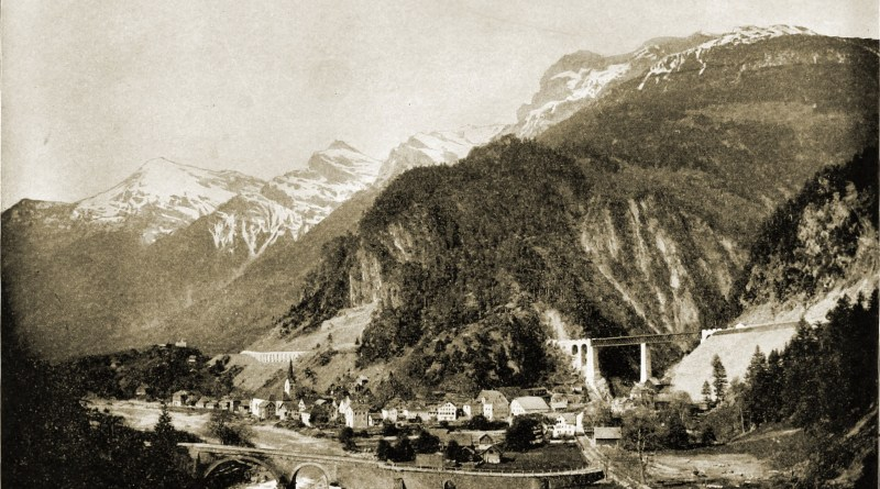 St. Gotthard Pass Switzerland about 1892