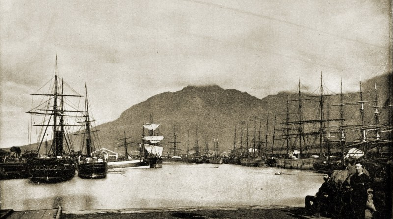 Table Bay Cape Town South Africa about 1892