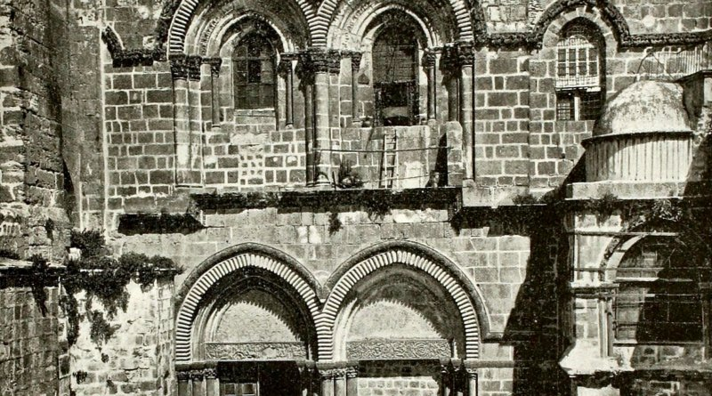 The Church of the Holy Sepulchre, Jerusalem about 1892