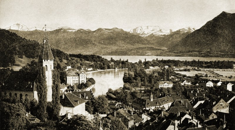 Thun Switzerland about 1892