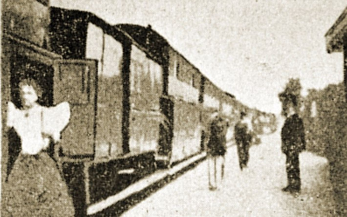 Georges Méliès Arrival of a Train at Vincennes Station 1896