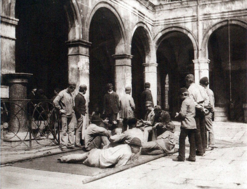 Morra Players in Venice about 1894