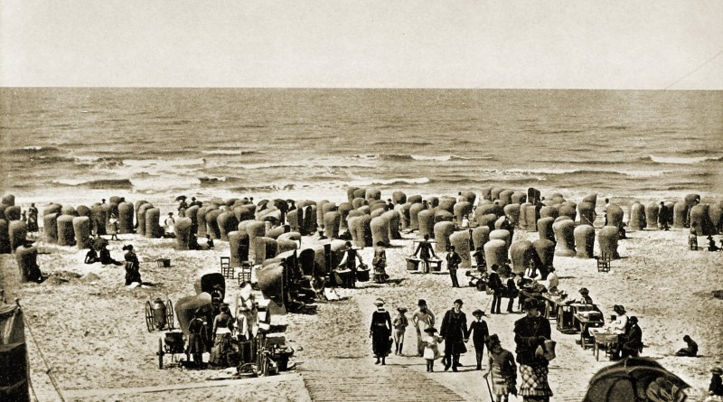 Scheveningen Beach Holland about 1892