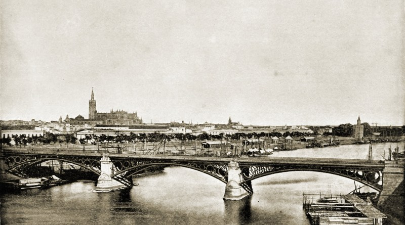 Seville Panorama Spain about 1892