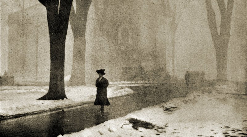 A Winter Morning by P. F. Stoddard 1910