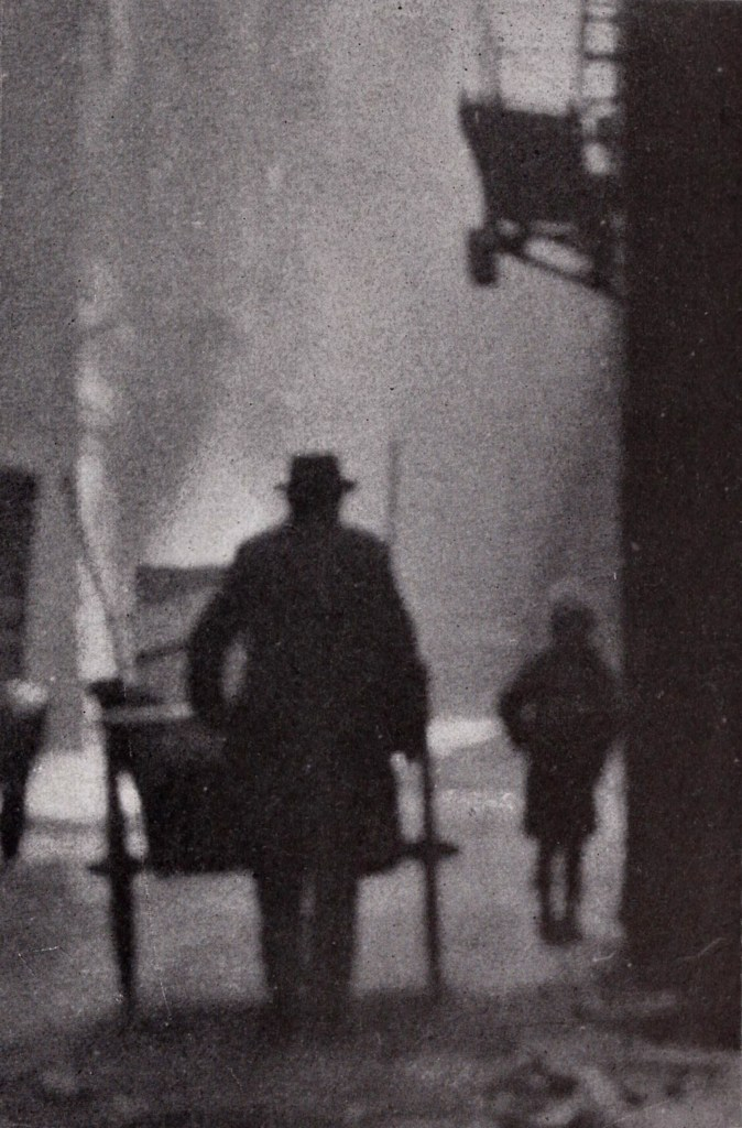 Alley Silhouettes by Peter G. Petridis about 1923