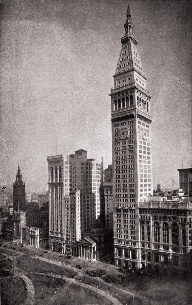 Enchanting towers by Irving Berkey about 1923