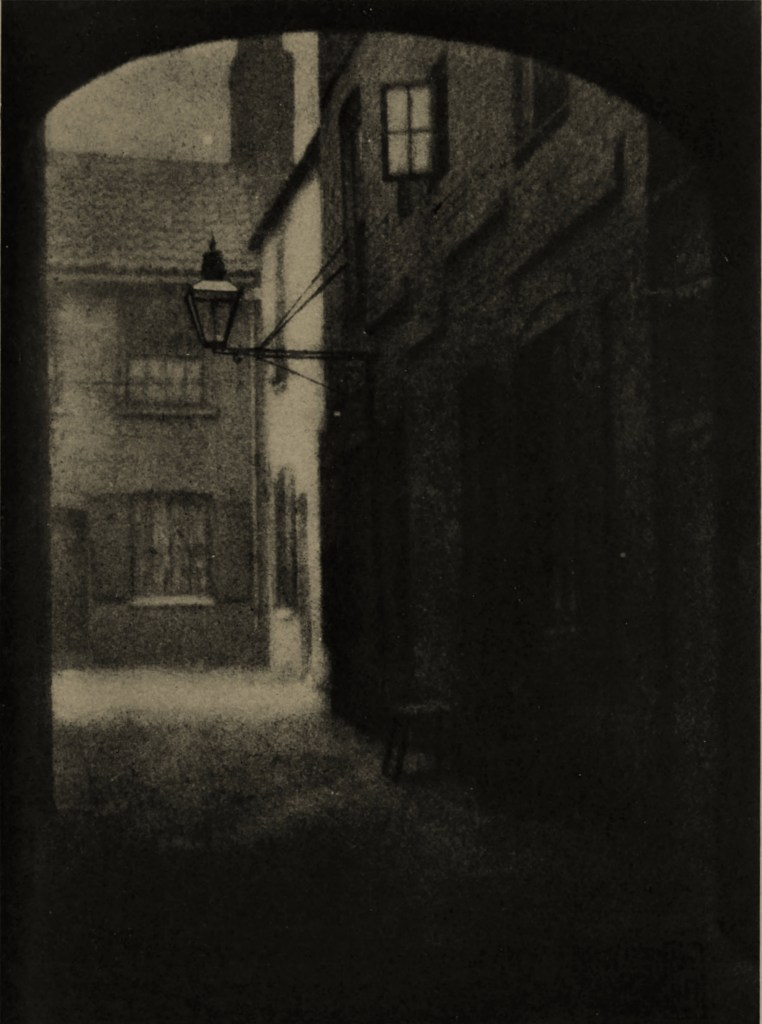 A London Alley by Frank E. Huson about 1908