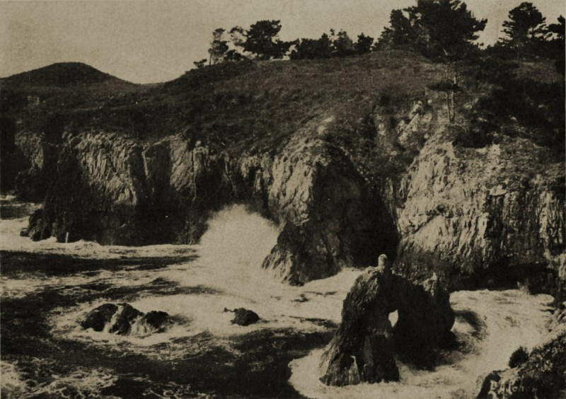 Carmel: horseshoe cove by Edgar A. Cohen about 1908