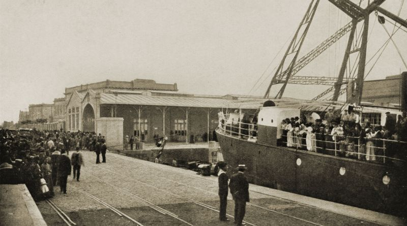 Immigrant Station, Buenos Aires, Argentina about 1917