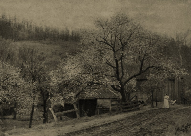 Springtime by John Beeby about 1908