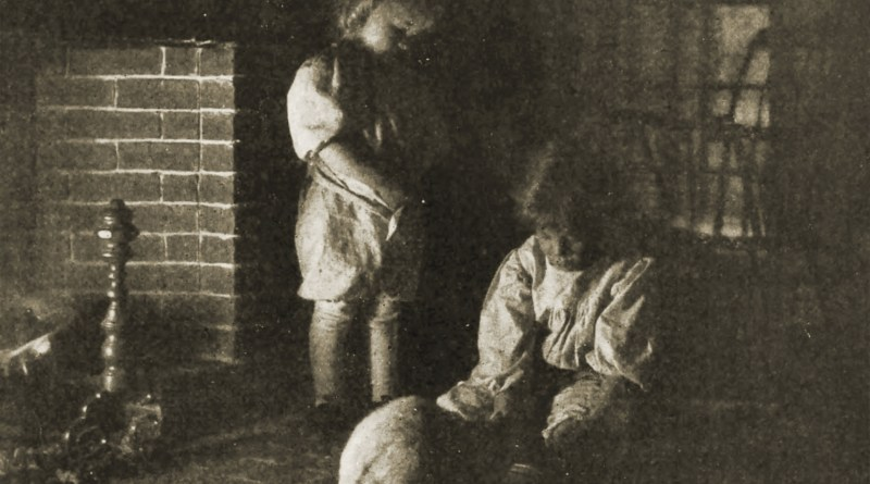 Suppertime by Helen W. Cooke about 1908