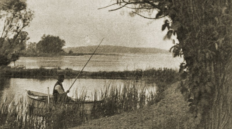 The Fisherman by D. H. Brookins about 1908
