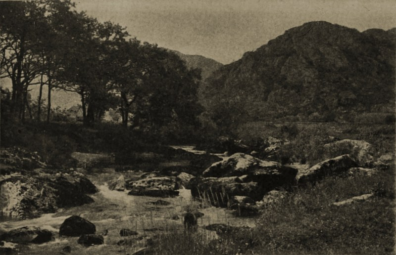 The River Llugwy (North Wales) by J. T. Ashby about 1908