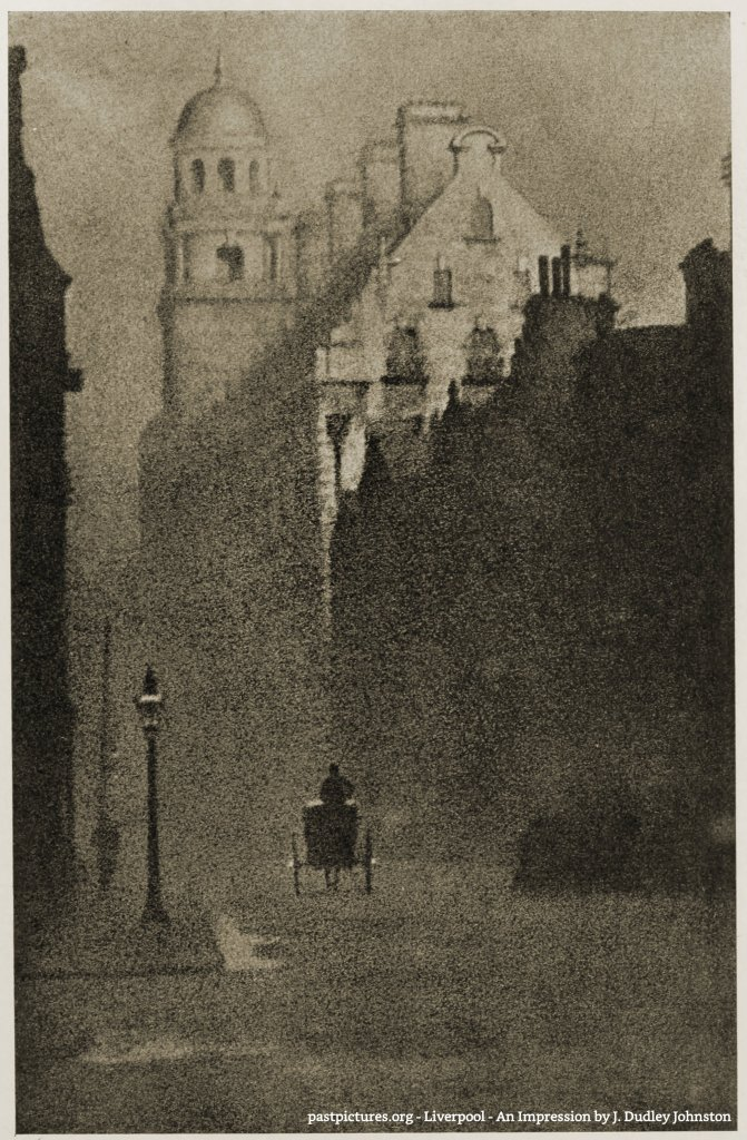Liverpool - An Impression by J. Dudley Johnston 1906