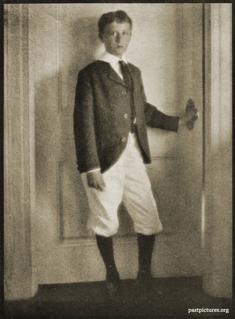 Portrait of a Boy by Clarence Hudson White about 1908