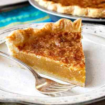 Vinegar Pie, or Good Lord I Need Pie. What Do I Have in the Pantry?