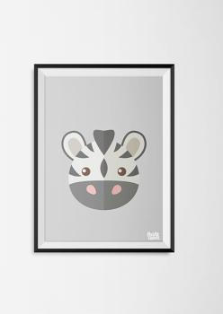 pastylabel_kinderkamerposter_dierenhoofden_zebra