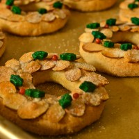 Almond Wreath Cookies (Mandelkränzchen)