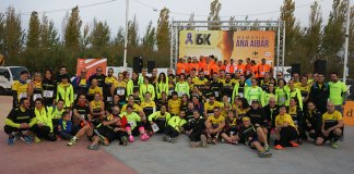 Paterna Runners antes del comienzo de la prueba