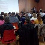Instante de la reunión de la AAVV Lloma Llarga Valterna
