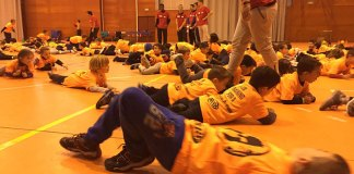Workout junior de la Spartan Race de Paterna