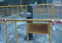 Fuente adaptada situada en el Parque de los Huertos