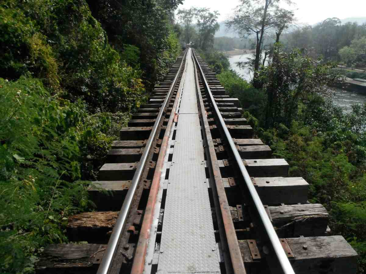 A Walk Along the Death Railway