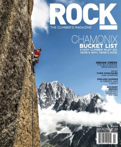 Rock & Ice Magazine : Assignments and Stock Licensing