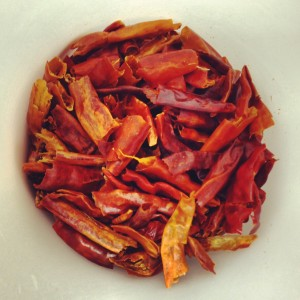 Arbol Chiles for red coconut curry bar