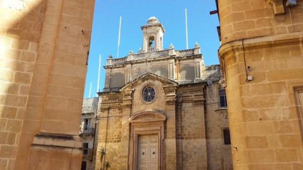 Malta in winter: Birgu, Vittoriosa