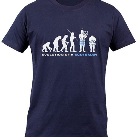 Evolution of a Scotsman T-Shirt