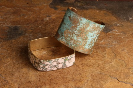 Woodland Chic Cuffs by Alison Lee