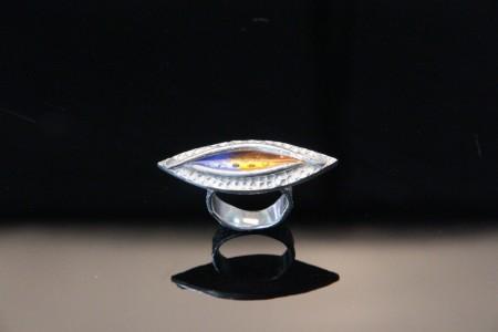 Metal Clay Ring by Patrik Kusek