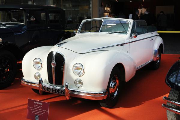 hotchkiss 2050 1952 cabriolet anth or von chapron patrimoineautomobile com. Black Bedroom Furniture Sets. Home Design Ideas