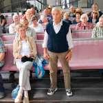 Herr Großer veranschaulichte mit Obertongesang die tolle Akustik der Kirche.