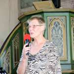 Marlis Krägel organisierte das Podium und führte durch das Programm.