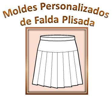 Personalizados Falda Plisada