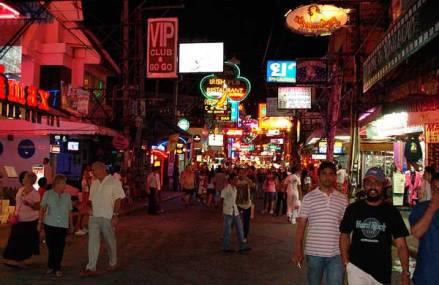 Allsidig uteliv i Pattaya
