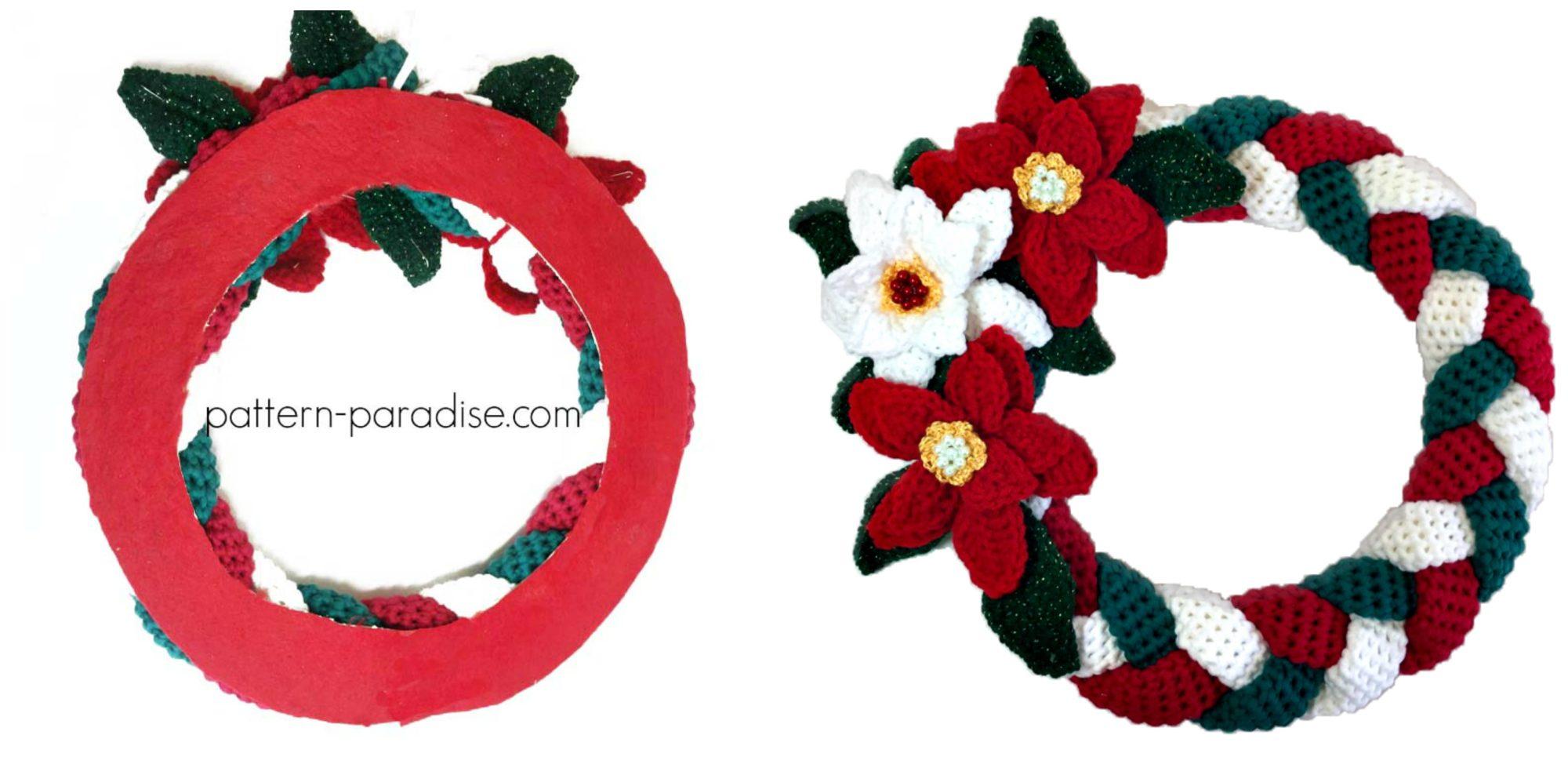 Braided Christmas Wreath 12weekschristmascal Week 4