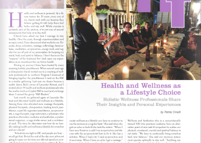 Article: Wellness a Lifestyle