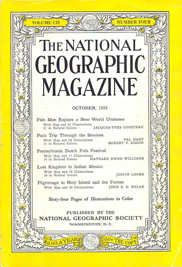 Pátzcuaro in National Geographic Magazine, 1952