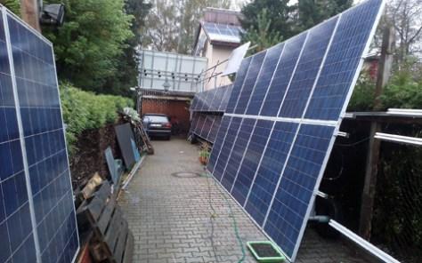 Einfahrt Vogelwiles Solarhaus