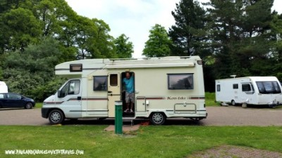 Our weekend stay at the Cardiff Caravan and Camping Park