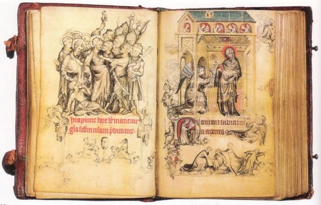 From the Prayer Book of Medieval Chivalry