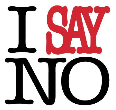 "On the importance of ""No"""