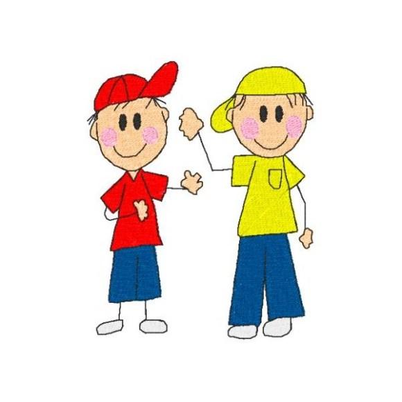 Os dois meninos